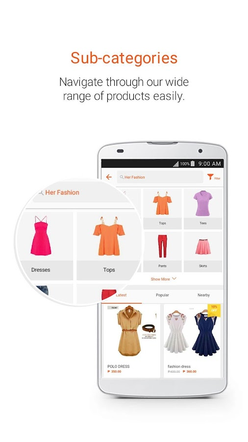 Shopee PH: Buy&Sell on Mobile Screenshot 2