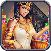 Game Cleopatra Match 3 Jewels Quest version 2015 APK