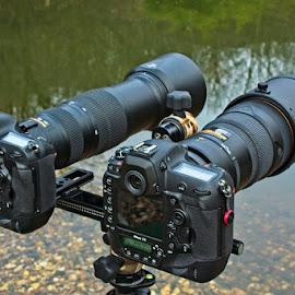 Prepared to shoot! by Bencik Juraj - Artistic Objects Technology Objects ( technology objects, camera, nikon, lens, dslr,  )