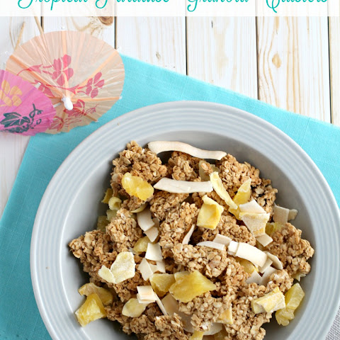 Tropical Paradise Granola Clusters