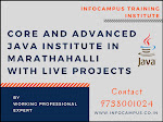 core and advanced java institute in marathahalli with live projects