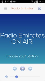 Emirats Radio, UAE Radio - screenshot