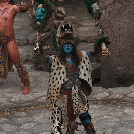 Mayan by Valentin Rodriguez  - People Musicians & Entertainers (  )
