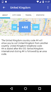 COUNTRY CODES - screenshot