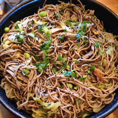 Soba Noodles with Napa Cabbage