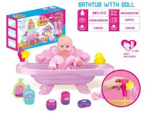 """Игровой набор серии """"Играем с мамой"""", ванночка для купания"""