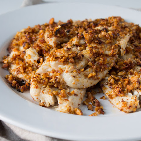 Sriracha Almond Crusted Tilapia