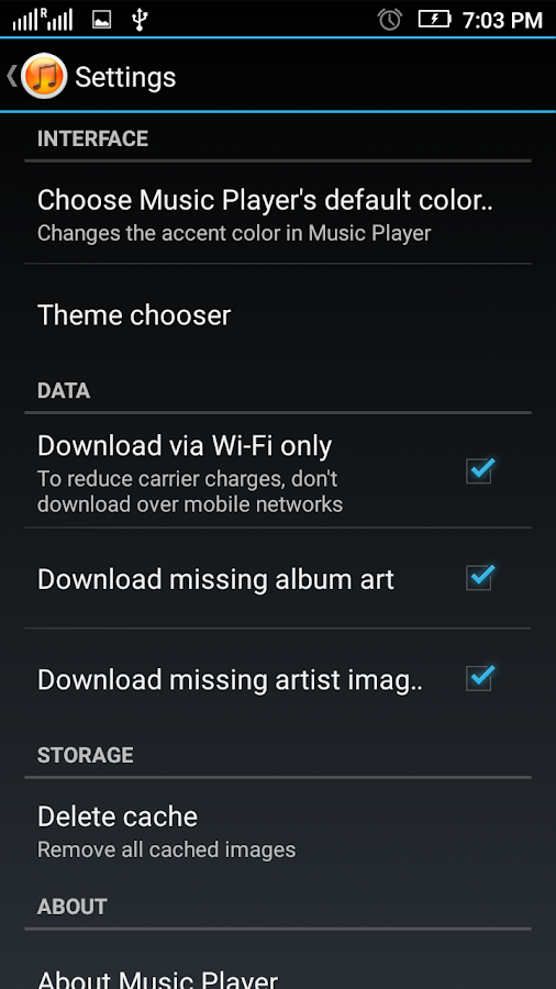 Music Player Pro Screenshot 5