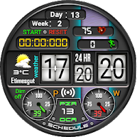 D 113 Digital Watch Face For WatchMaker Users on PC (Windows & Mac)