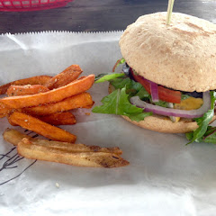 Gf Original Burger & Sweet Potato Fries