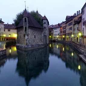 Annecy, France by Gilles Ferrier - City,  Street & Park  Vistas