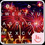 Happy New Year 2018 Keyboard Theme Icon
