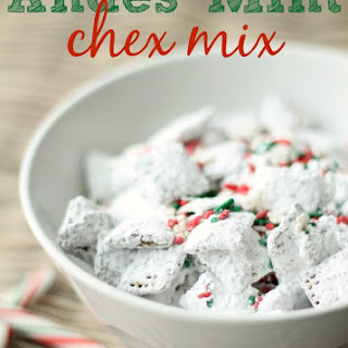 Andes Mint Chex Mix Muddy Buddies
