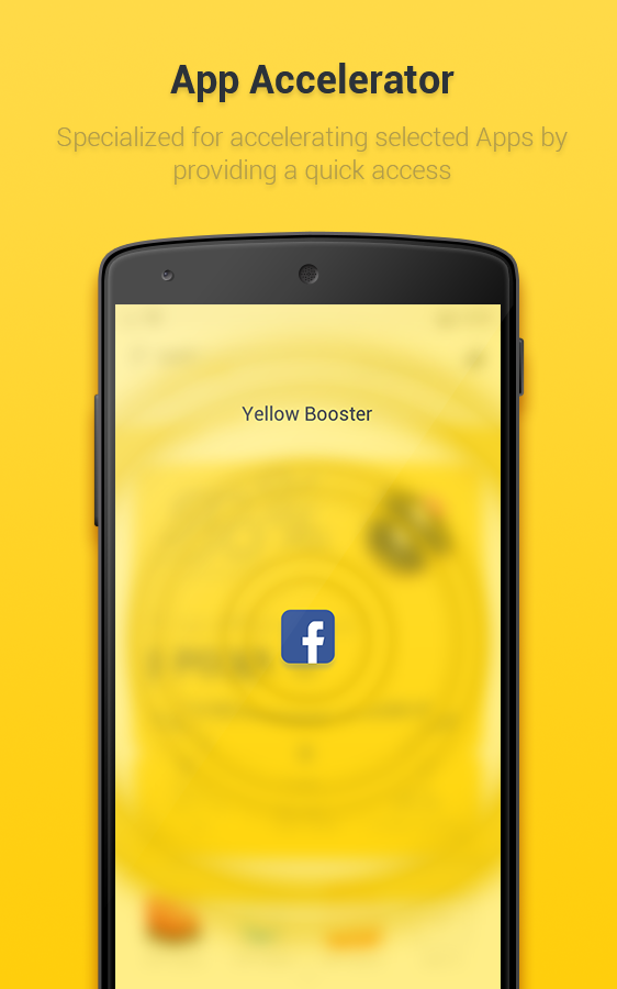 Yellow Booster Screenshot 1