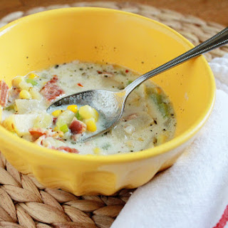Bacon, Corn & Potato Chowder
