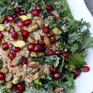Kale, Pomegranate, and Quinoa Salad