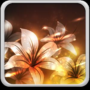 Glowing Flowers Live Wallpaper Online PC (Windows / MAC)