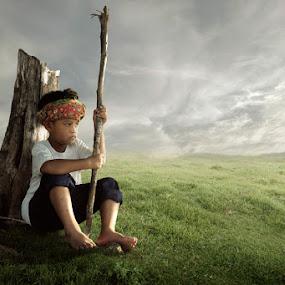 feeling by Chegu Diman - Babies & Children Child Portraits ( chegu diman )
