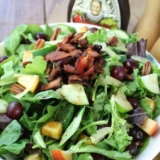 Balsamic Bacon and Pecan Summer Salad