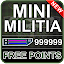 Cheats Mini Militia for free bullets prank !