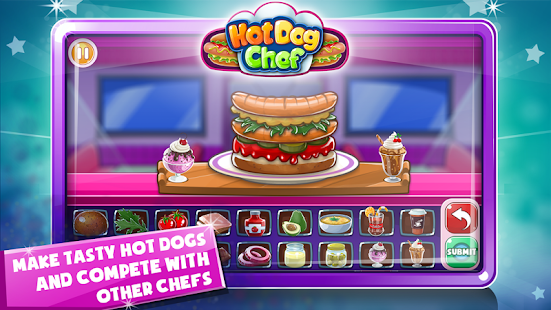 Hot Dog Chef: Cooking Rush- screenshot thumbnail
