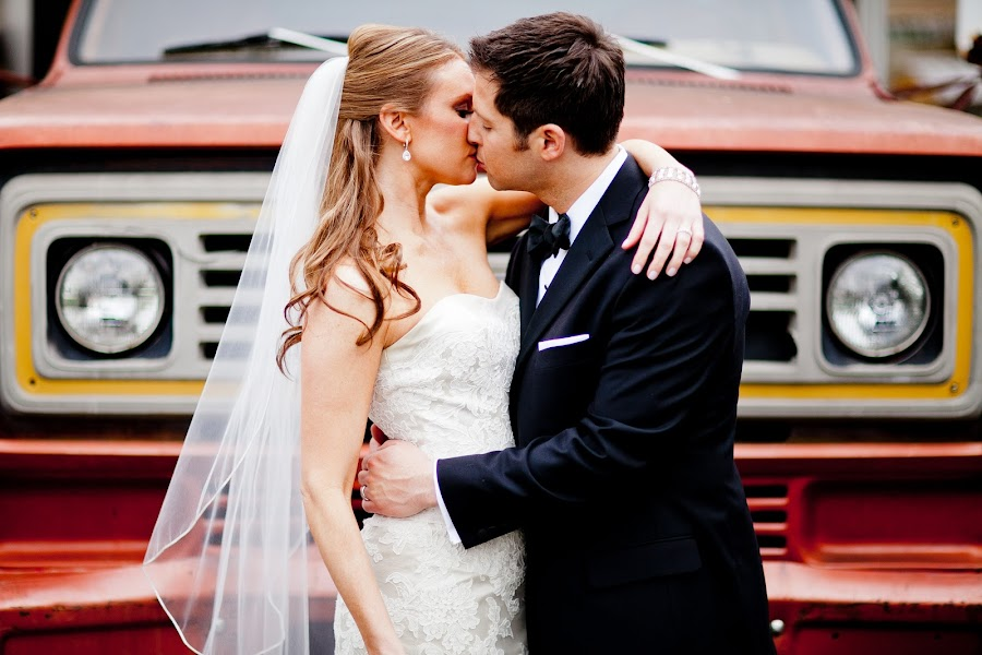 Truck by Drew Noel - Wedding Bride & Groom ( drew noel photography )