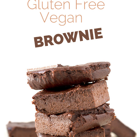 Gluten Free Vegan Brownie