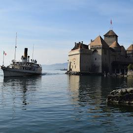 Chateau de Chillon by Ester Ayerdi - Buildings & Architecture Public & Historical ( history, building, switzerland, lake, castle, historical, architecture )