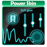 Soft glow Poweramp Skin Icon