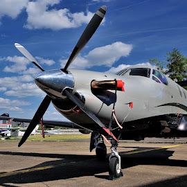 Pilatus by Tomasz Budziak - Transportation Airplanes ( airplane, transportation )