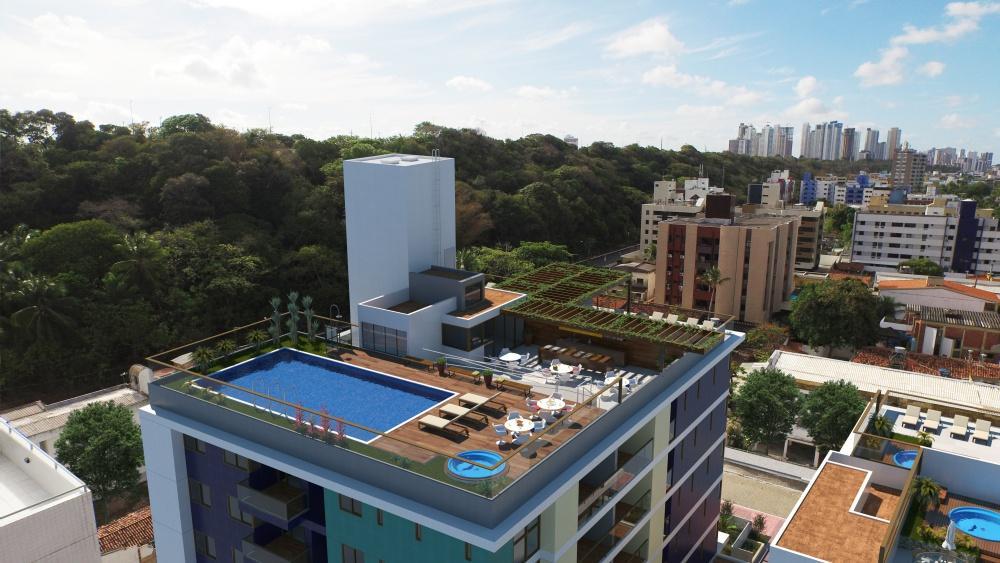 Cobertura duplex 4 suíte a beira mar do Cabo Branco, João Pessoa - AP4272.