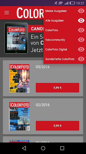 ColorFoto Magazin - screenshot