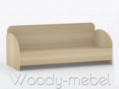 Детская мебель: Кровать КР-3