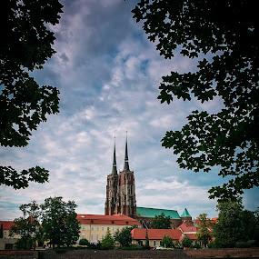 Ostrow Tumski - Wroclaw, POLAND by Krzysiek Roznowski - Novices Only Landscapes ( ostrow tumski, cathedral, wroclaw, sigma dp1x, poland )
