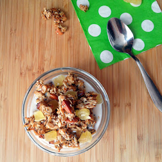 Tropical Coconut Oil Granola