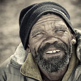 Jacob by Maricha Knight van Heerden - People Portraits of Men ( homeless, male, friendly, smile, man )