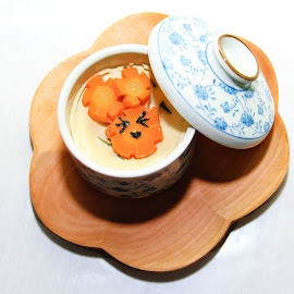 cawanmushi by Drianz Chen - Food & Drink Plated Food ( plated, japanesse, food, cute, egg )