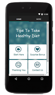 Tips To Take Healthy Diet - screenshot