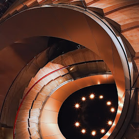 stairs curves by Narsiskus Tedy - Buildings & Architecture Other Interior