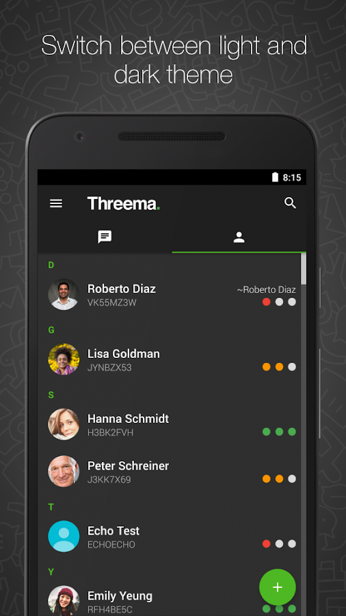 Threema Screenshot 4