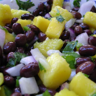 Mango-Black Bean Salsa
