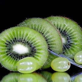 kiwi by Asif Bora - Food & Drink Fruits & Vegetables