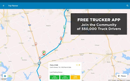 App Trucker Path – Truck Stops & Weigh Stations apk for kindle fire