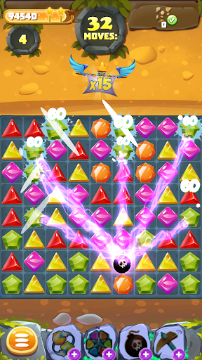 Pirate Treasure Tropical Blast - screenshot