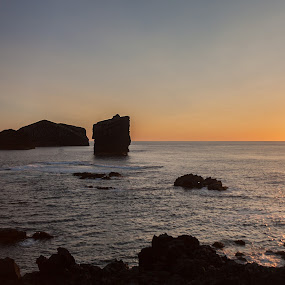 Beautiful Sunset by Rui Medeiros - Landscapes Sunsets & Sunrises ( waterscape, sunset, landscapes, são miguel, azores )