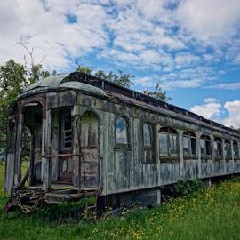 Pullman Railcar  by Todd Reynolds - Transportation Trains