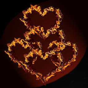 Hearts on fire  by Ghazala .S. Mujtaba - Web & Apps Icons