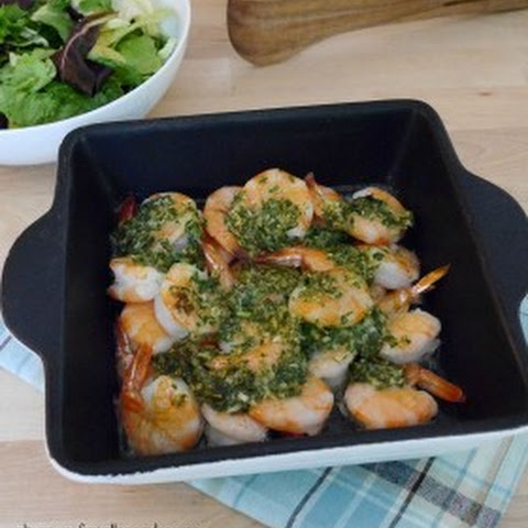 Low Carb Baked Shrimp