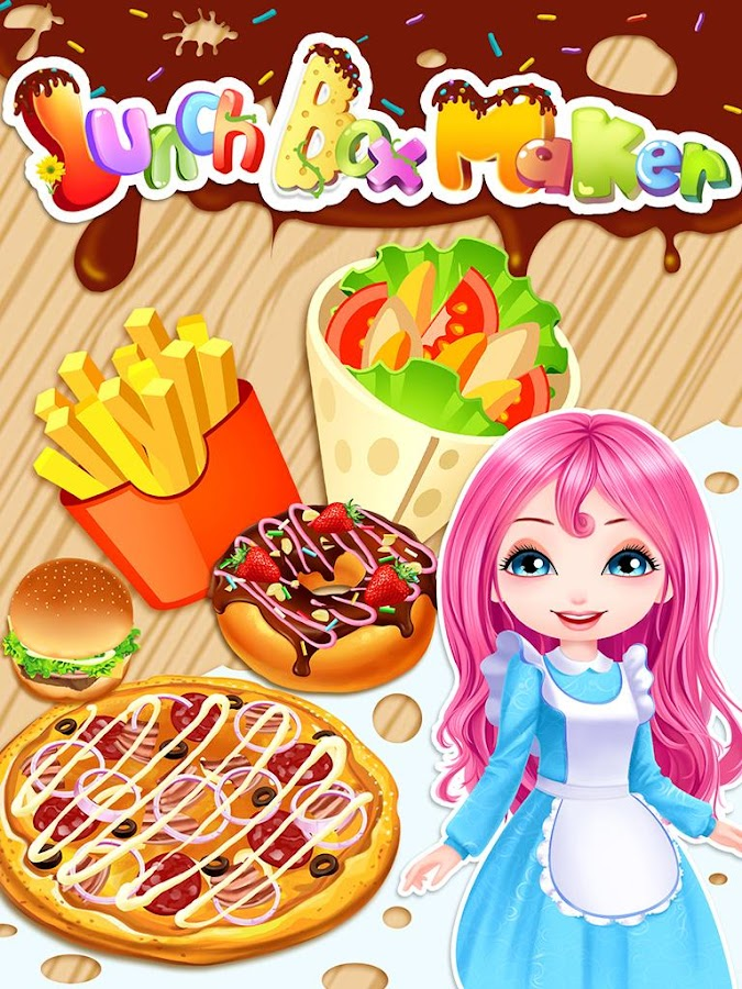 Lunch Box Maker Cooking Games Screenshot
