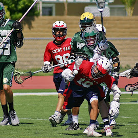 Wolfpack Lacrosse by Alvin Simpson - Sports & Fitness Lacrosse